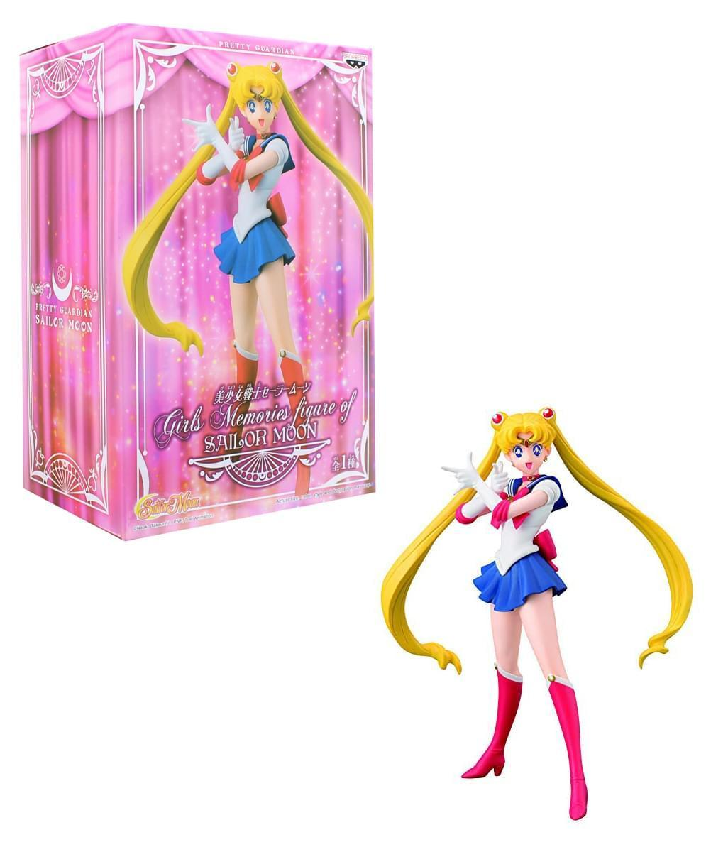 FIGURE SAILOR MOON 16 CM GIRLS MEMORIES MOON PRETTY GUARDIAN BANPRESTO #1